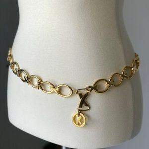 Vintage Paloma Picasso Gold Belt